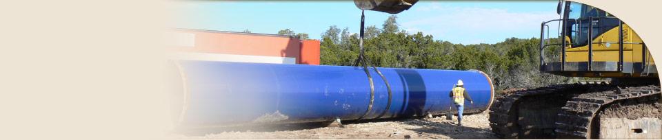 Brushy Creek Raw Water Pipeline