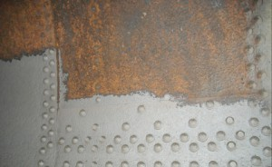 Deteriorating substrate during mechanical blasting